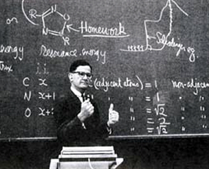 Jack in lecturing in 1962